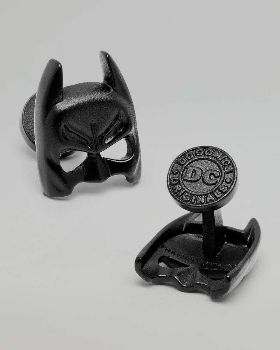 Ravi Ratan Batman Mask Cuff Links on Wantering