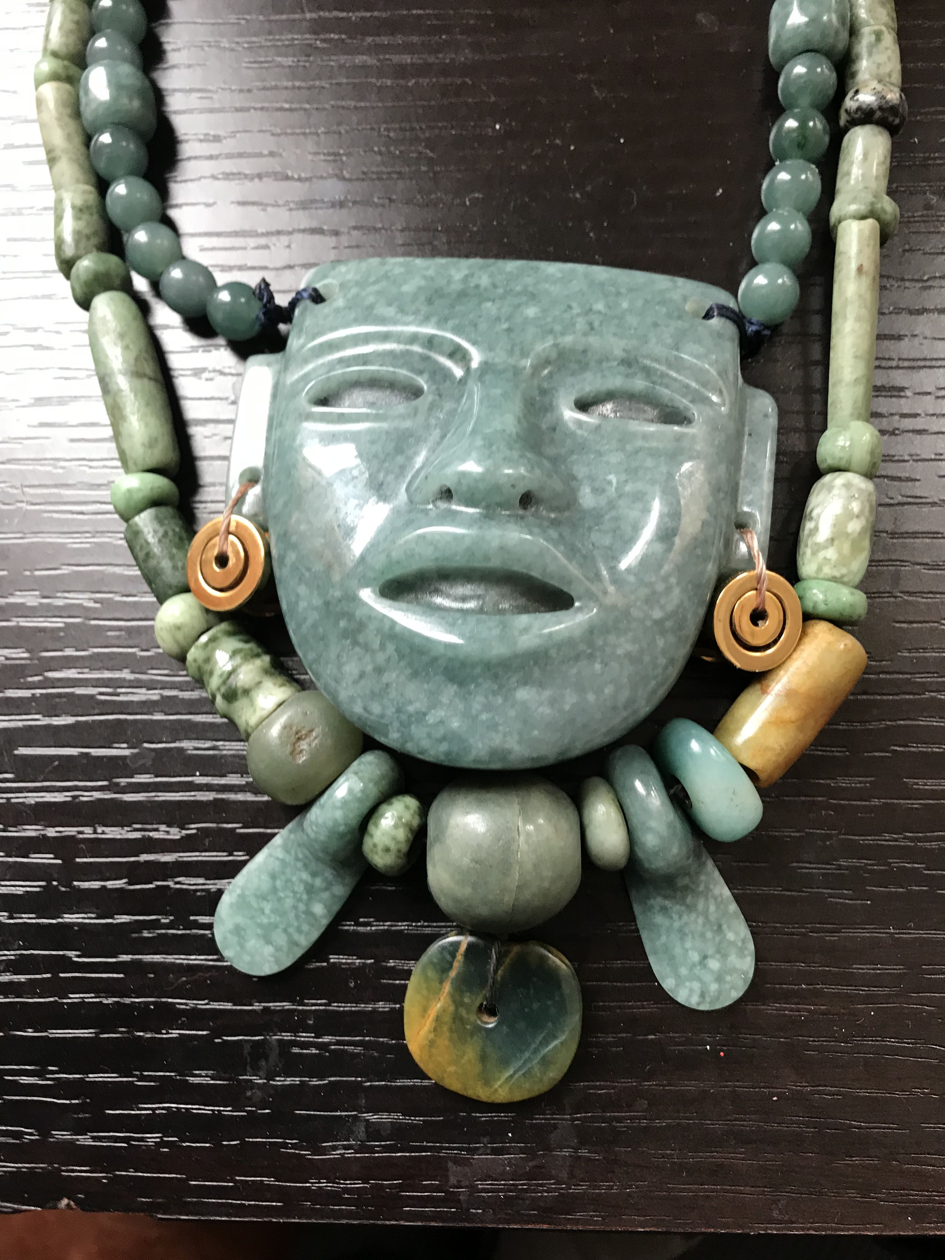 Pre Columbian Jade Ethnic Jewellery In Search Of Beauty