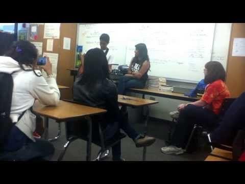 Singing in Spanish class - YouTube