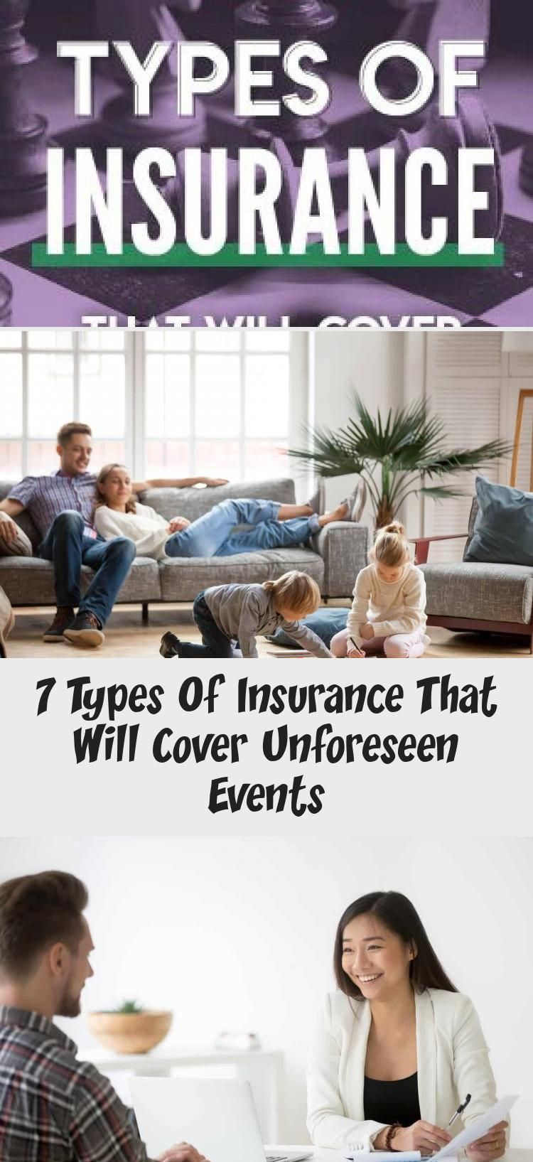 7 types of insurance that will cover unforeseen events in