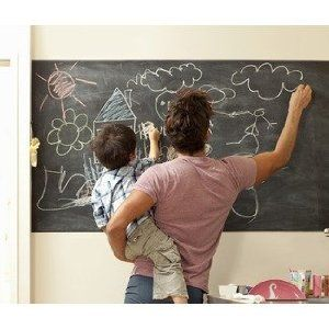 "Chalkboard Contact Paper, Peel and Stick Blackboard 18""(Inches) x 6'(Feet): Amazon.ca: Home & Garden"
