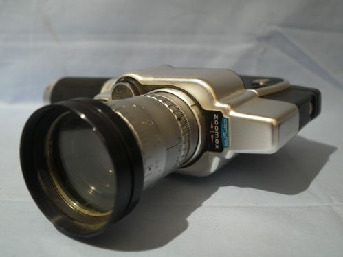 Carena Zoomex 8mm Movie Camera With Angenieux Lens 39 99 Movie Camera 8mm Camera Camera