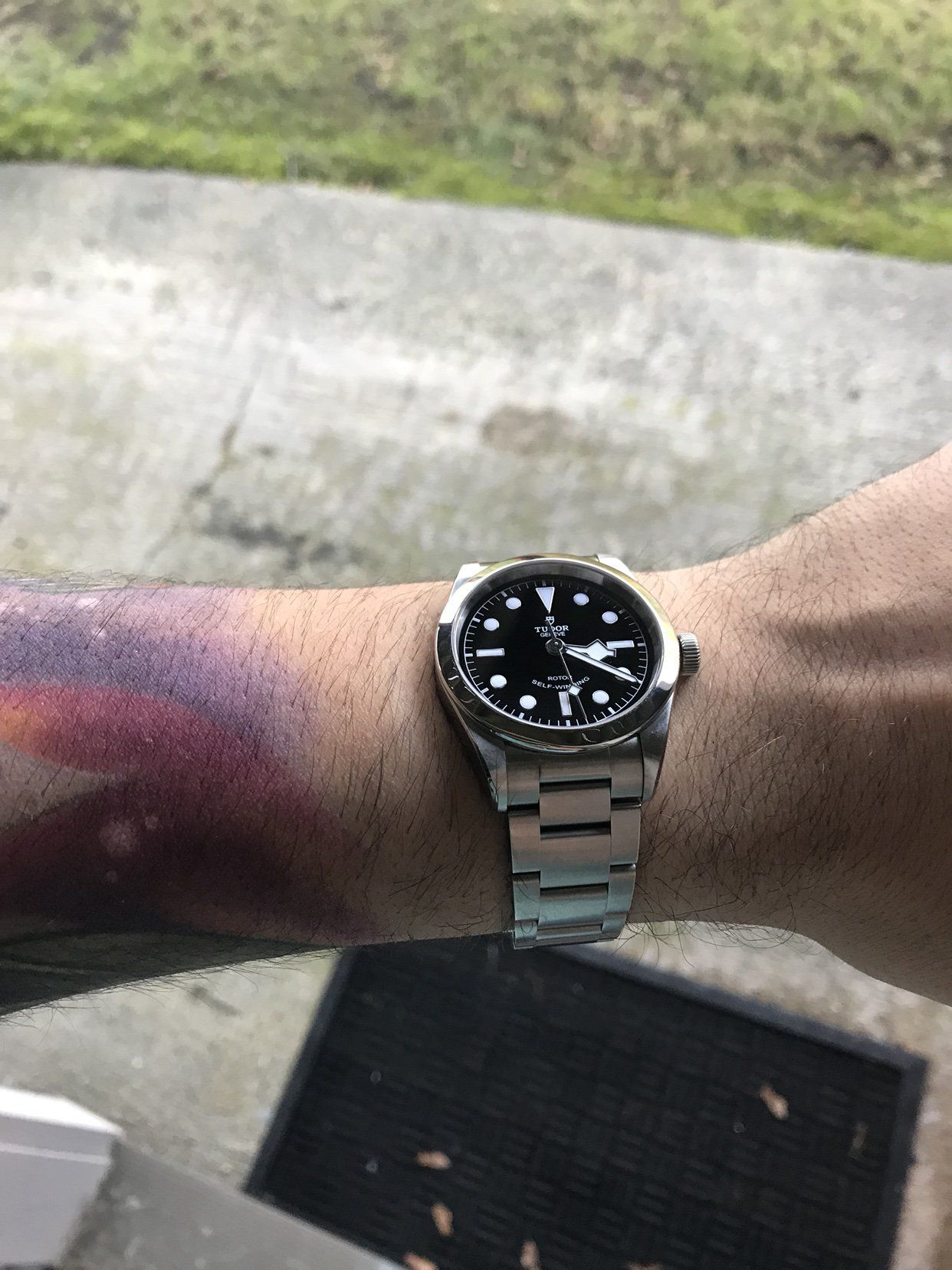 Black Bay 41 & 36 side by side - Product pics by Tudor - Page 9 ...