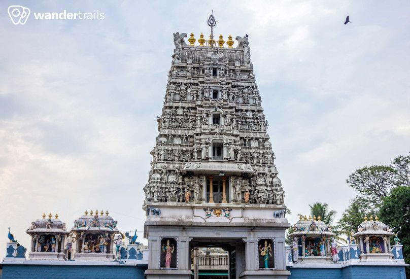Sri Subramanya Swamy temple is famous temple in V V Puram