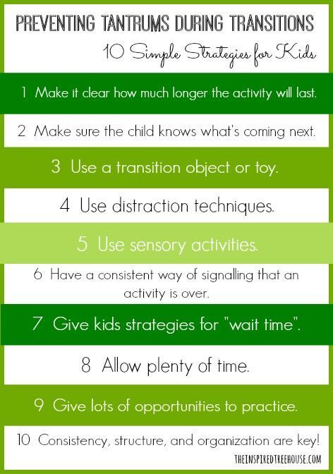 10 Calming Techniques and Transition Strategies for Kids | ILS