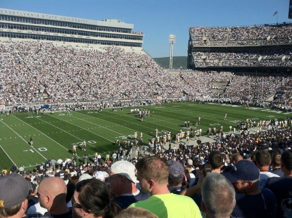 2 Penn State Vs Ohio State Football Tickets Sec Wj Parking