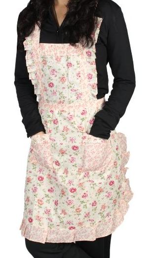Rose Pattern Apron Only $3.99 PLUS FREE Shipping!
