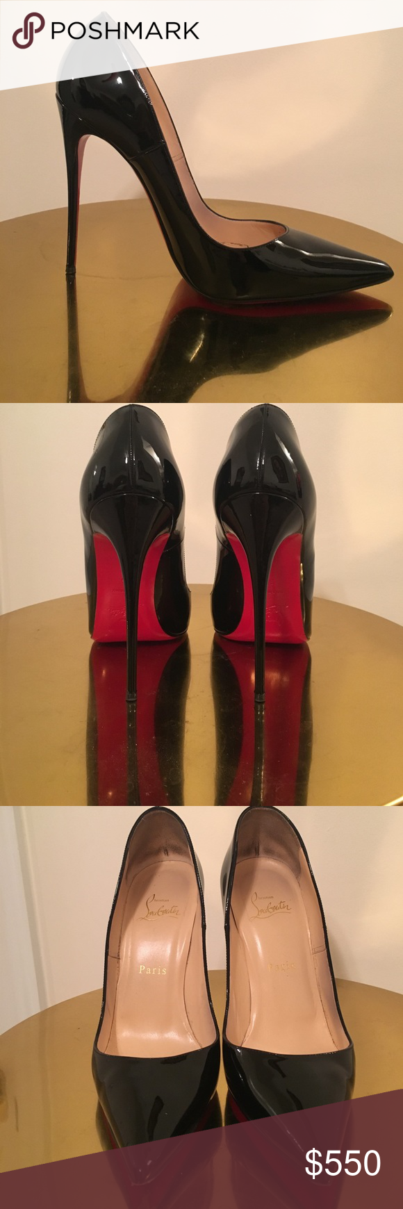 Christian Louboutin Red Alligator Shoes and Bag Gift 3D