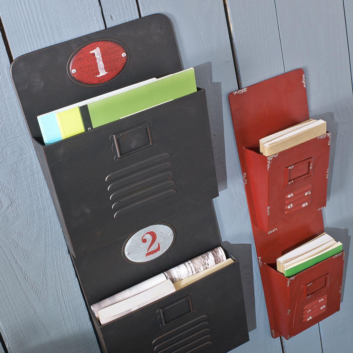 Porte courrier mettre sur le c t du frigo rangements et am nagements porte courrier - Porte courrier ...
