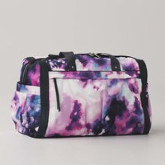 NWT Lululemon urban warrior duffel Large enough to carry everything lululemon athletica Bags