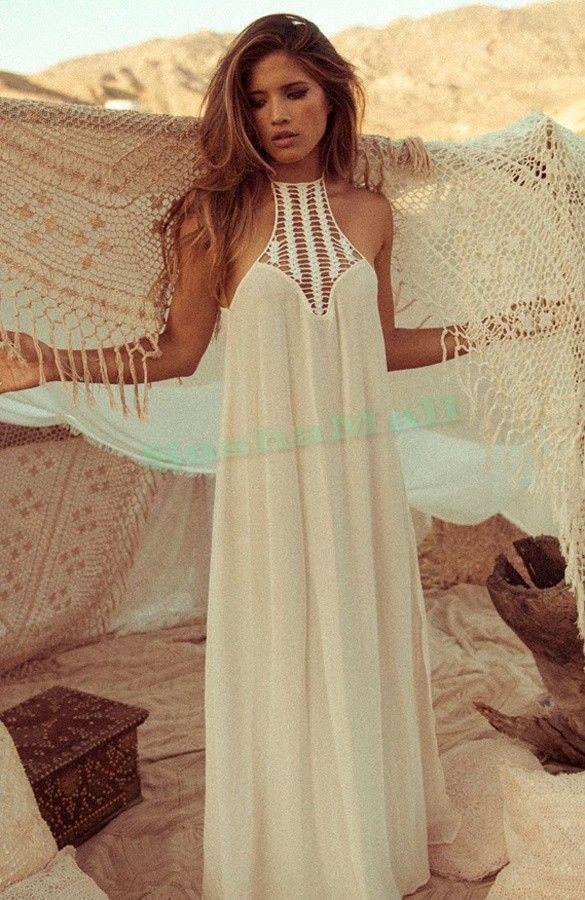Comprar vestido blanco playa