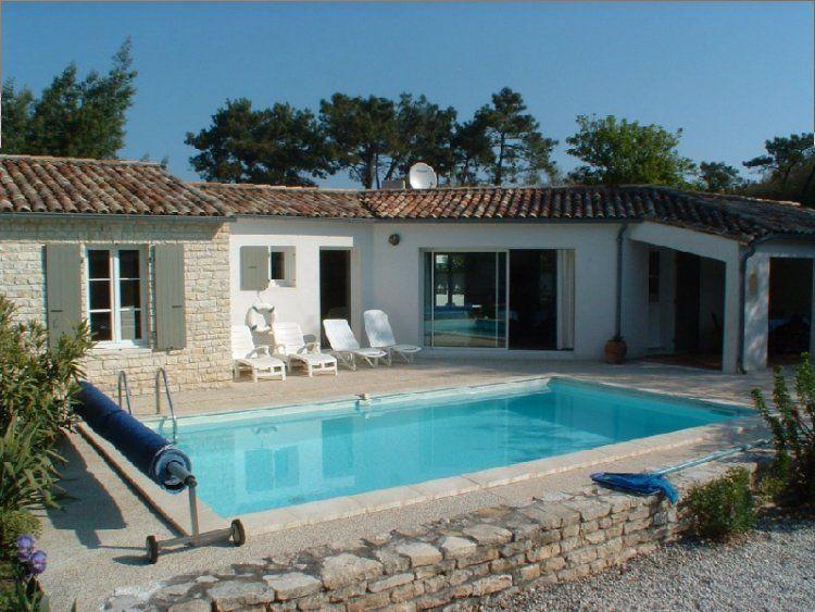 Image maison avec piscine image maison charente - Villa charente maritime avec piscine ...