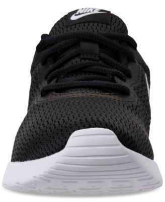 637f9869e437 Nike Women s Tanjun Wide Width (2E) Casual Sneakers from Finish Line -  Black 9.5
