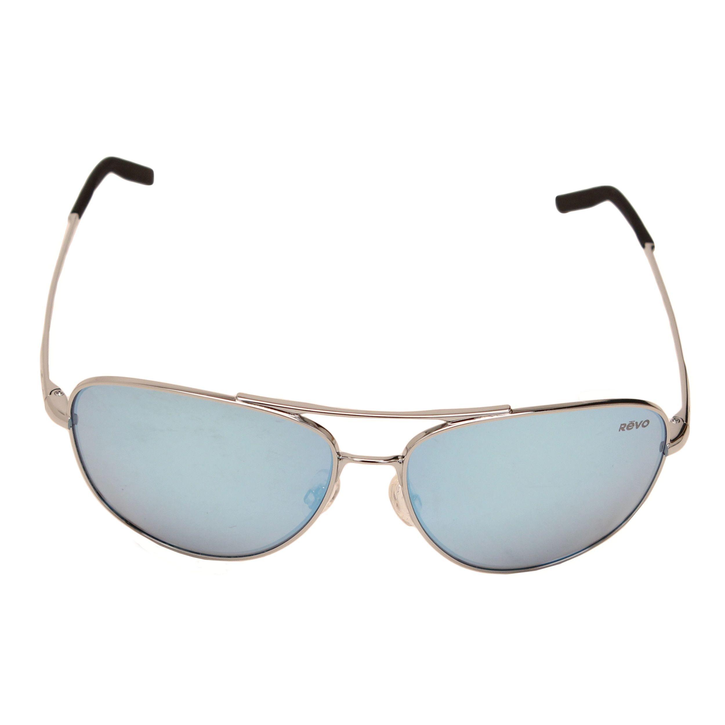 5db28b63d1a Revo Men s RE 3087 03 BL Windspeed Sunglasses With Chrome Frame and Blue  Water Serilium Lens