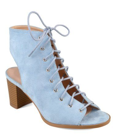de7ca6957a Pin by Kalen Lewis on Fashion | Peep toe ankle boots, Heels, Lace up ...