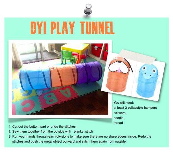 cd8fc831b4 DIY Play tunnel