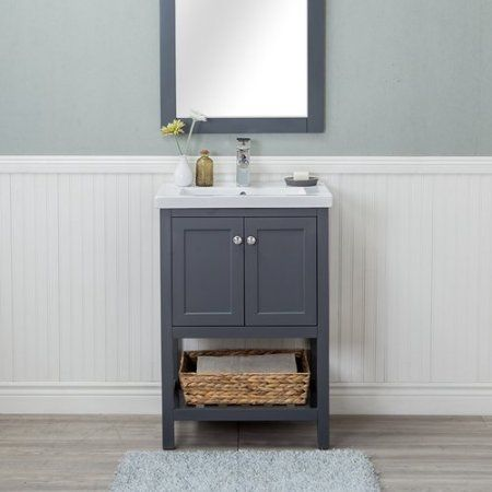 Admirable Winston Porter Hagins 24 Single Bathroom Vanity Set Home Interior And Landscaping Ologienasavecom