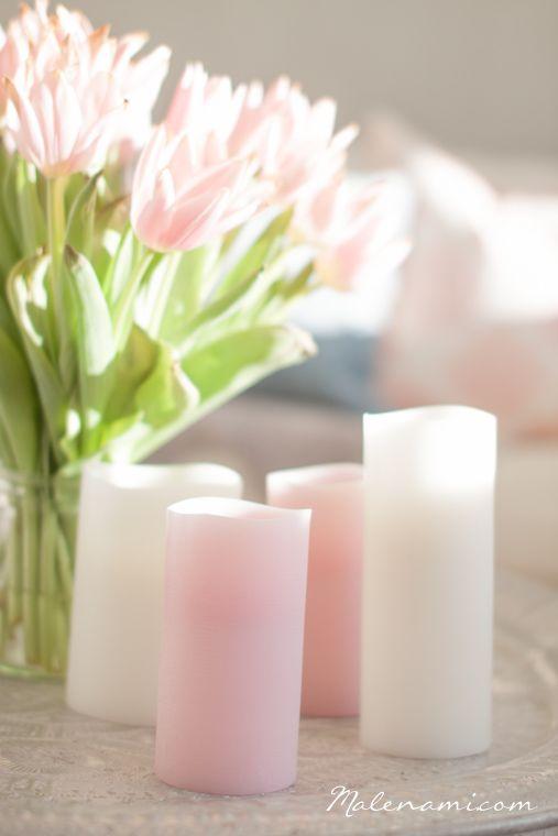 Bright and fresh with Peony Rose and Ivory in a stylish mix. #enjoycandles #flamelesscandles #stylish #interiordesign