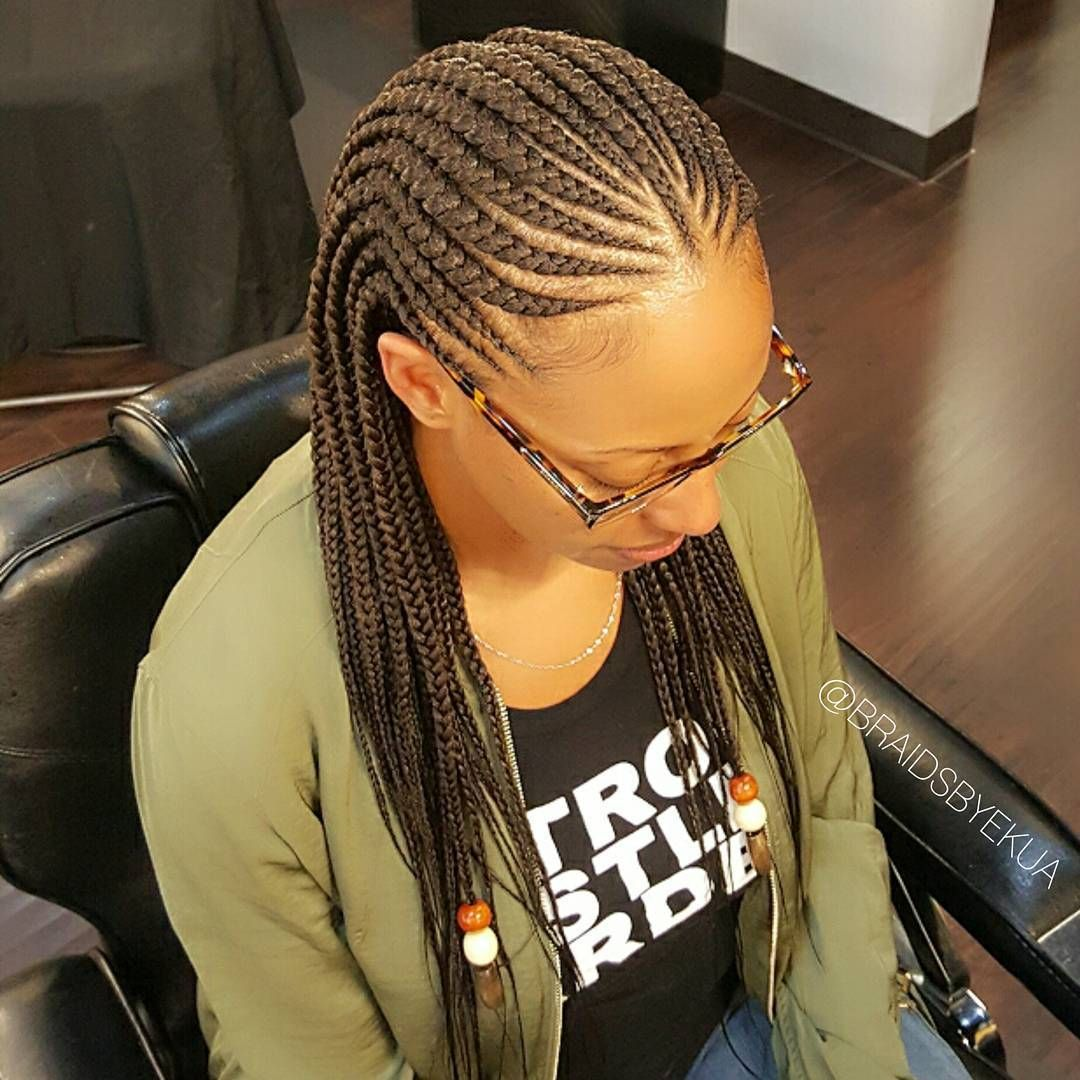 Tribal #cornrows #tribalbraids EDGE SAFE BRAIDING ...