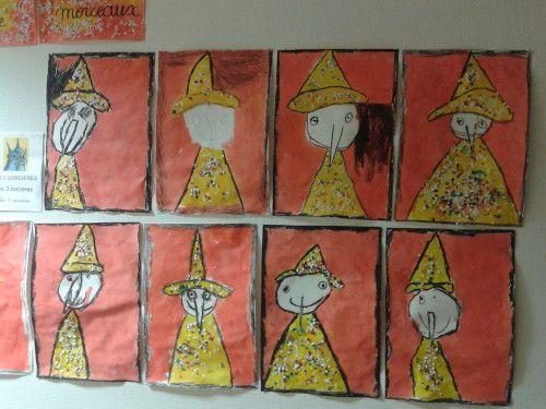 Bien-aimé arts visuels 3 sorcières | thème sorcière | Pinterest | Sorcières  LO19