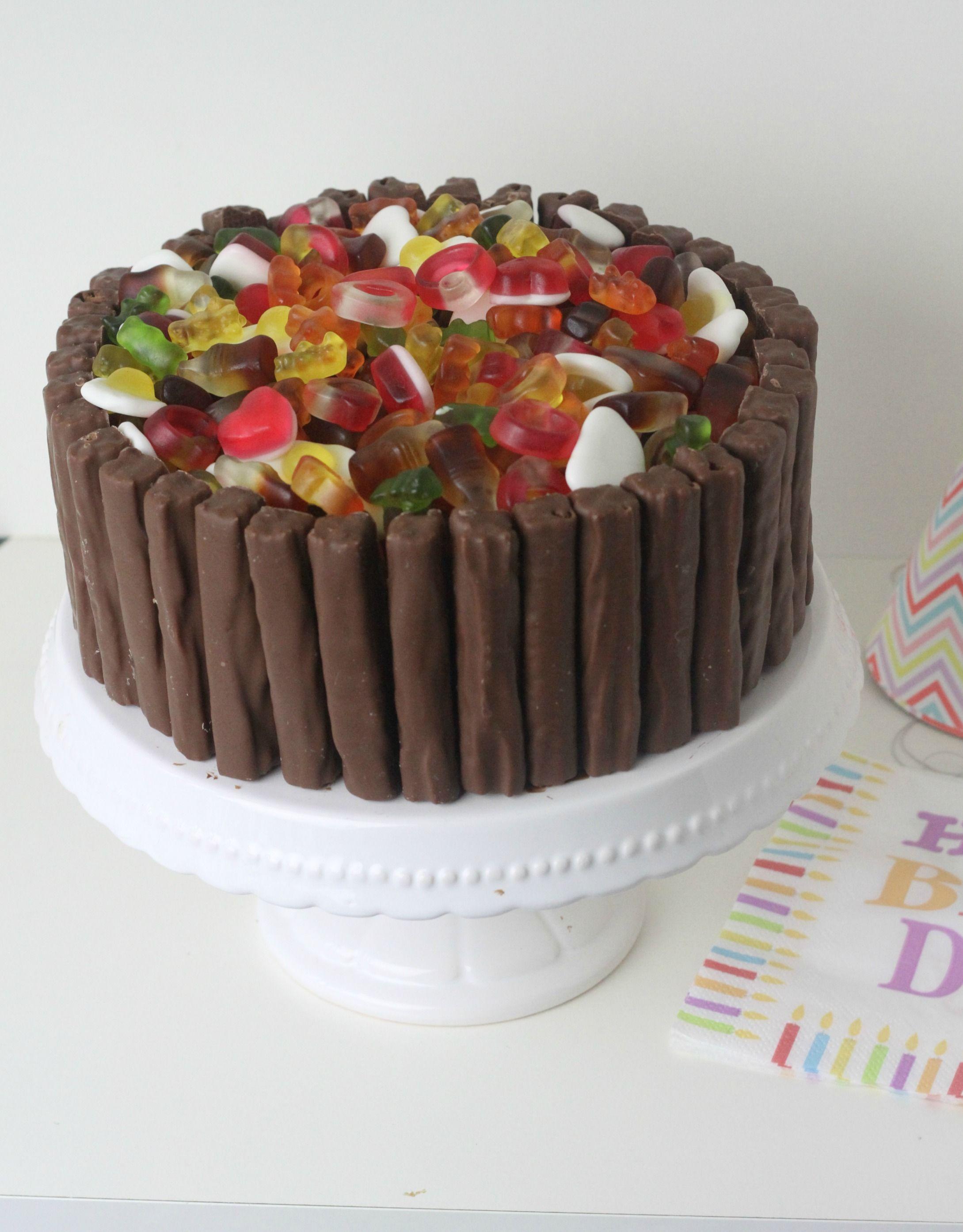 Haribo Cadburys Twirl Chocolate Celebration Cake