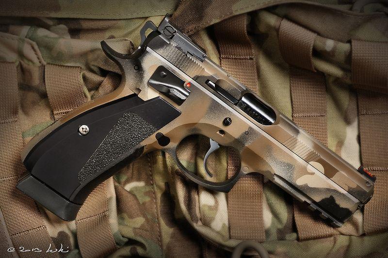 CZ75 SP-01 9mm Shadow Custom | Guns and more guns | Hand