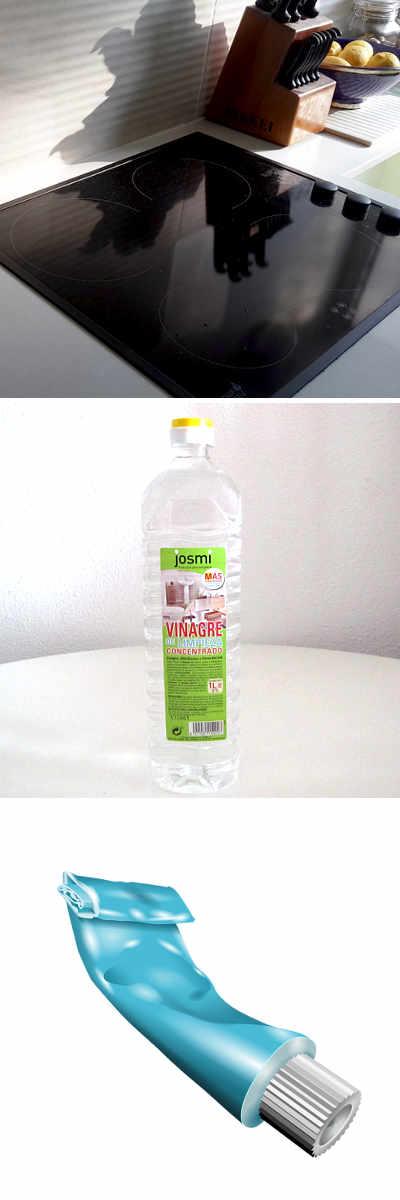 C mo limpiar la vitrocer mica f cil r pido y econ mico limpieza pinterest limpiar como - Como limpiar rapido ...