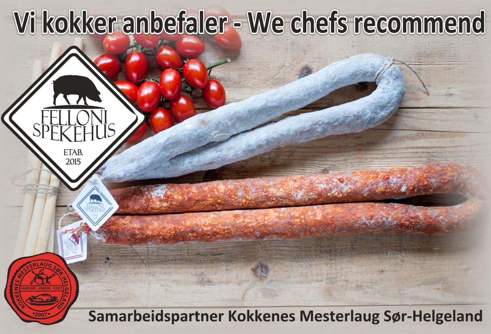 https://www.facebook.com/fellonispekehus/?fref=ts Spekehuset lager spekemat etter italienske tradisjoner med de gode norske lokale råvarene.