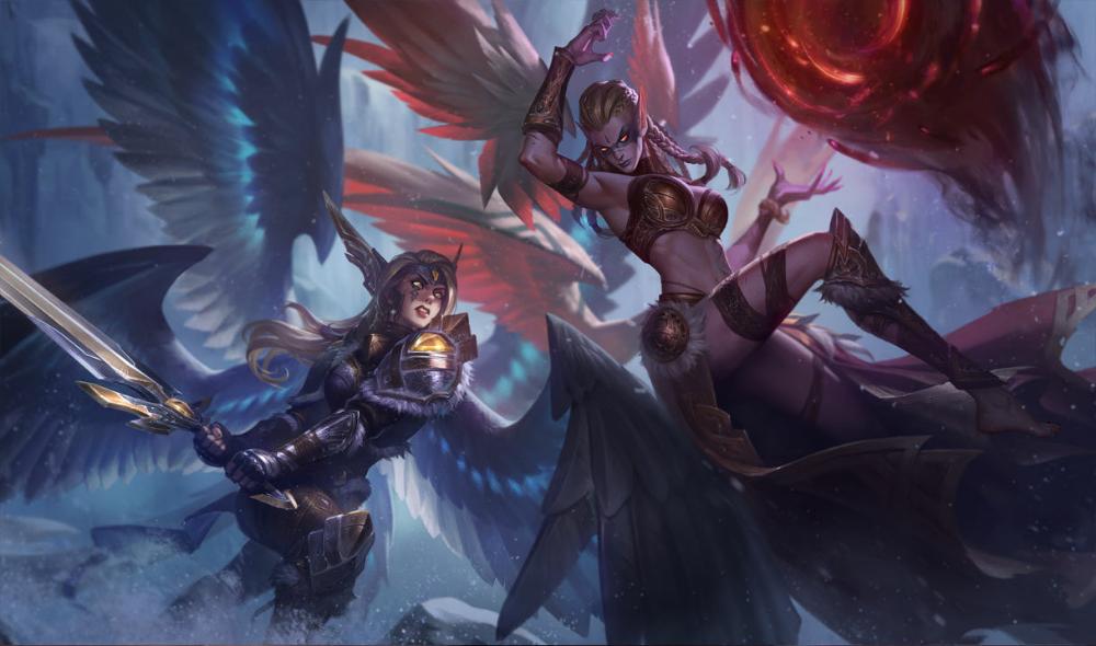 League Of Legends Exiled Morgana Wallpaper League Of Legends Legend Images Wallpaper