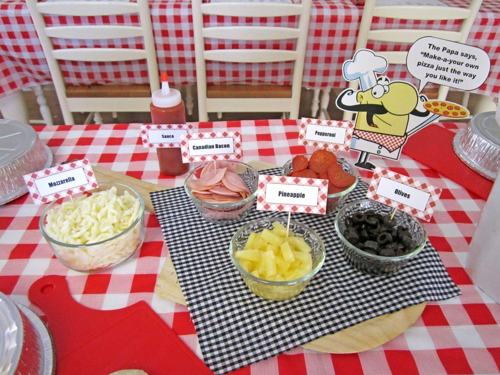 Kids Dinner Party Ideas Part - 28: How To Host A Fun Pizza-themed Birthday Party For The Kids!