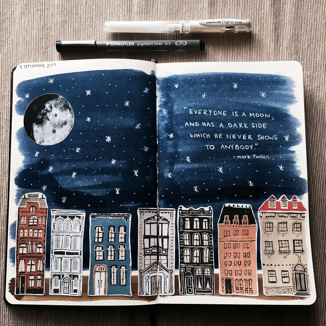 What a gorgeous spread for an art journal <3 Might have to give this idea a whirl myself.