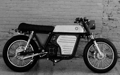 brooklyn motorized: electric with a jolt of retro style | cafe