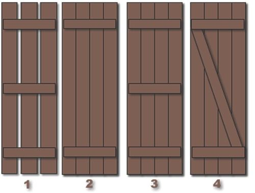 Board and batten shutters home pinterest batten for Board and batten shutter plans