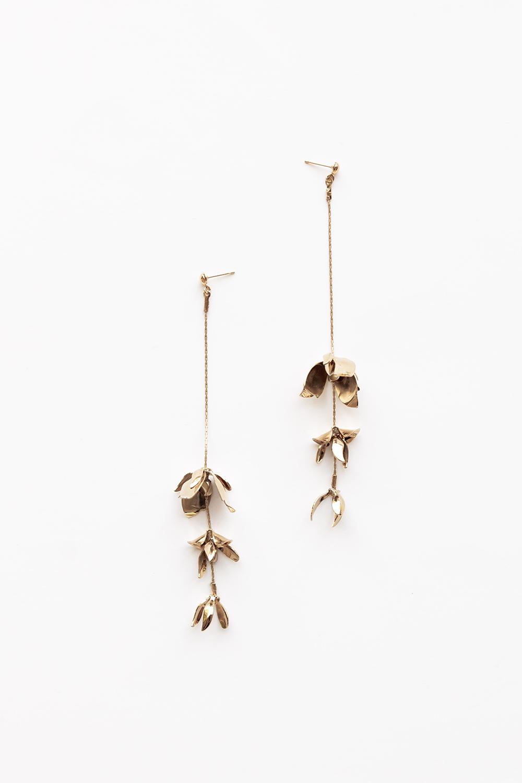 Magnolia Strand Earrings — A.B. ELLIE  |  H D W R