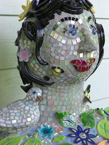 Garden Woman by The Dove Studio, via Flickr