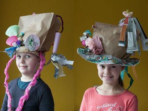 Ocurrentes y divertidos sombreros locos faciles de hacer  ee239f10876