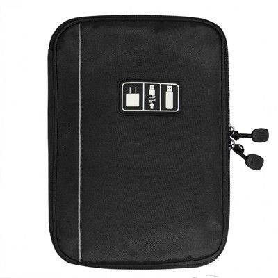 Electronic Accessories Bag Nylon Mens Travel Organizer For Date Line SD Card USB Cable Digital Device Bag Travel Accessories