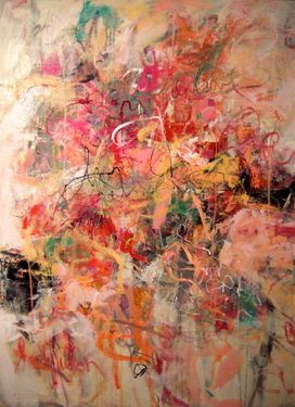 "Saatchi Online Artist Sandy Welch; Painting, ""COME CELEBRATE WITH ME"" #art"