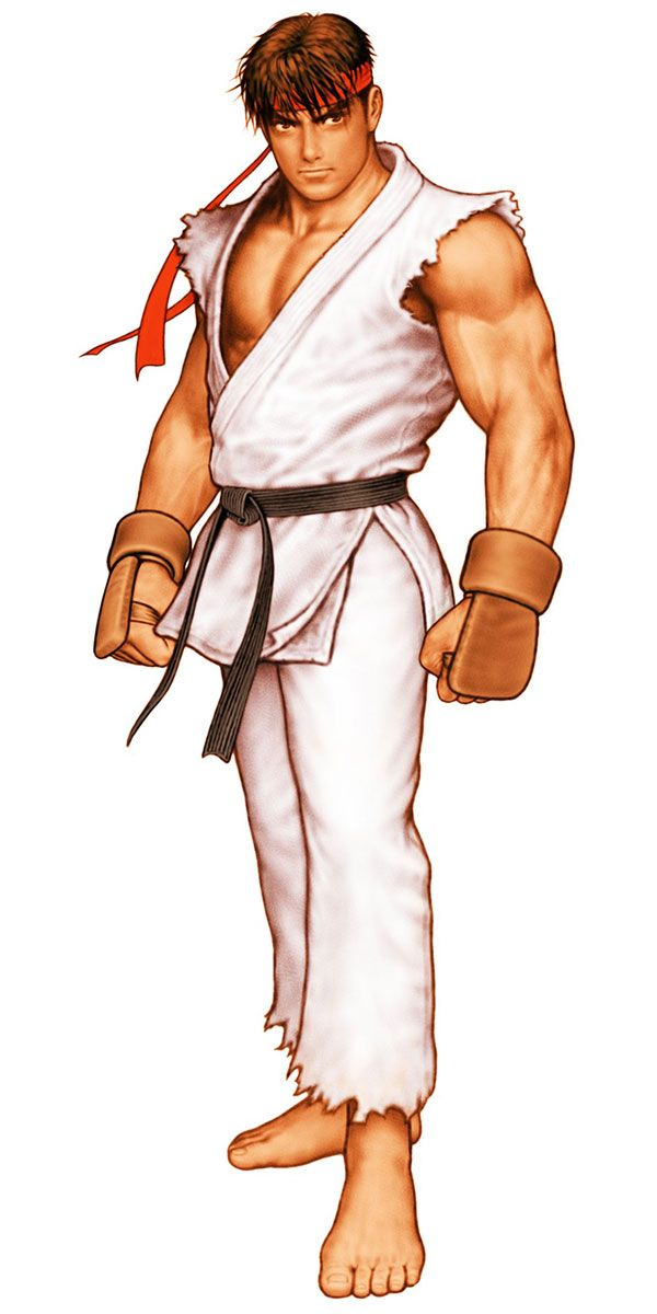 Ryu Street Fighter Pictures Characters Art Capcom Vs