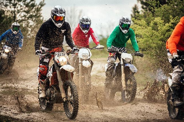 Muddy Buddies, Motocross, Bike
