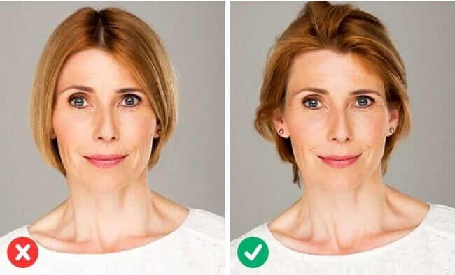 Mit Der Richtigen Fohntechnik 5 Jahre Junger Aussehen Frisuren Die