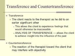 Image result for transference vs countertransference