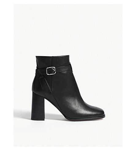Reiss Fulham - Leather Ankle Boots in Black, Womens