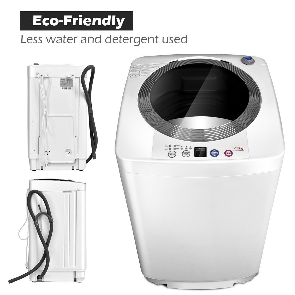 7 7 Lbs Automatic Laundry Washing Machine High Quality And Brand