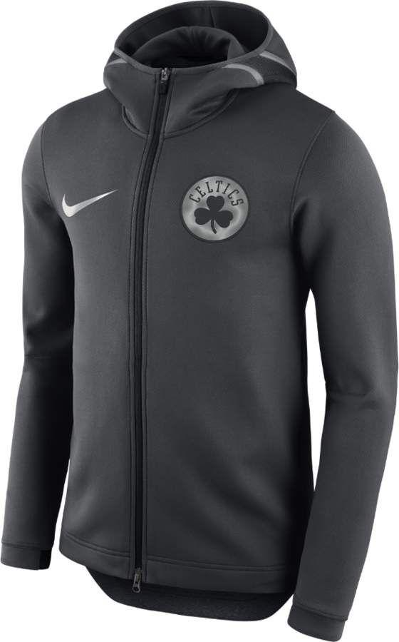 96a15152041 Nike Boston Celtics Therma Flex Showtime Men's NBA Hoodie Size Large (Grey)