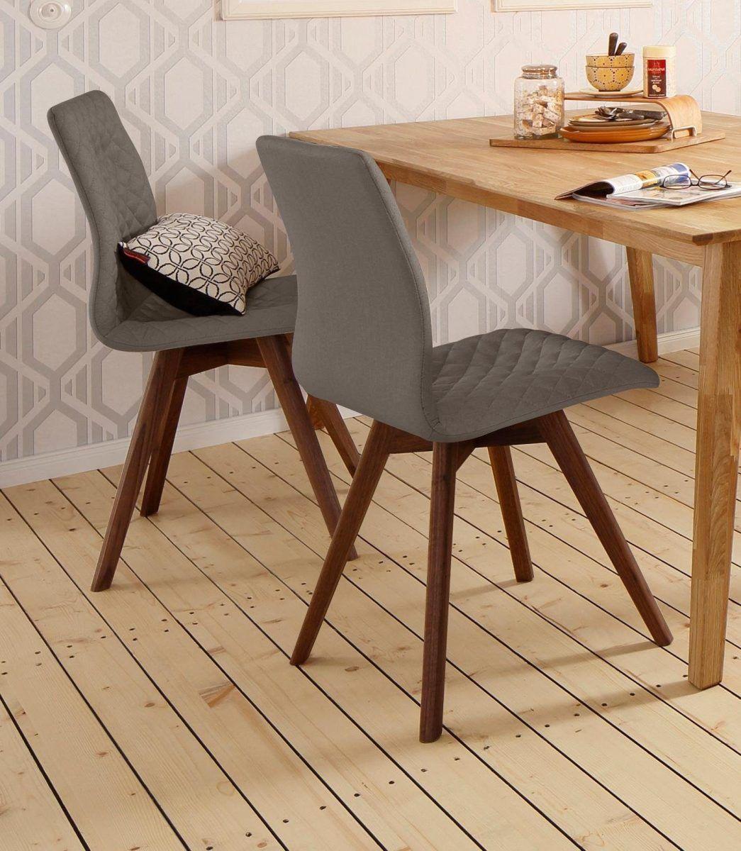 ANDAS Stühle braun, Beine Nussbaum, »Rania«, FSC®-zertifiziert Jetzt ...