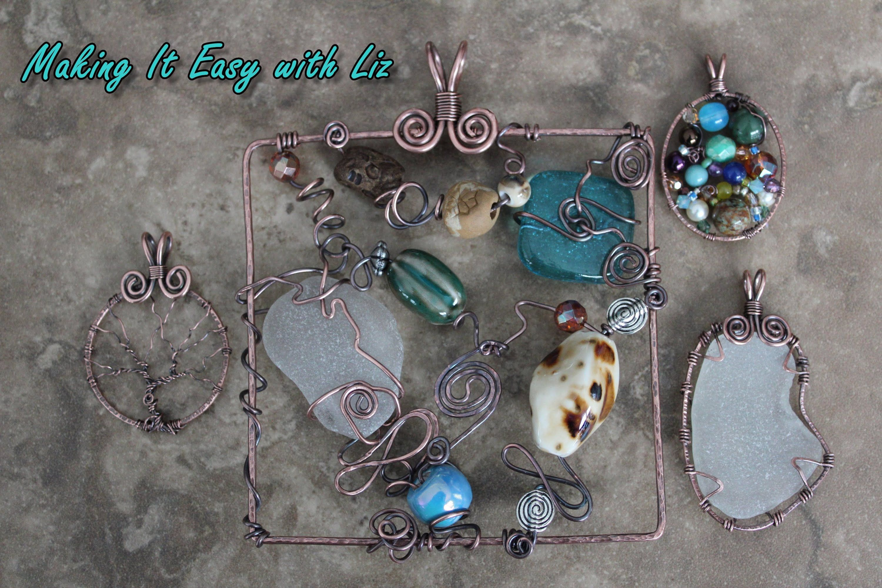 SUPER EASY Wire Work Frames for Endless Possibilities❤Hippie Hugs ...