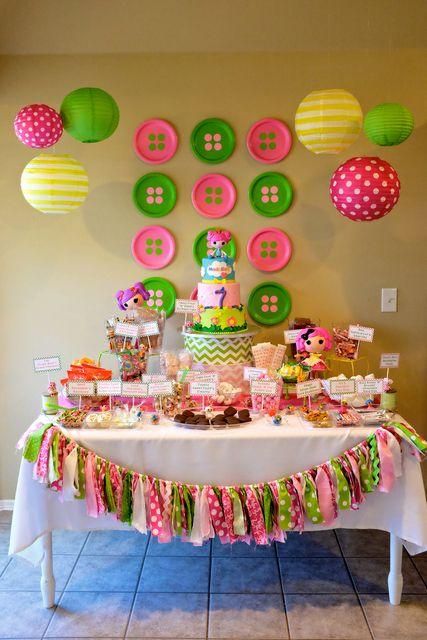LalaLoopsy Birthday Party Ideas Lalaloopsy Birthdays and Birthday