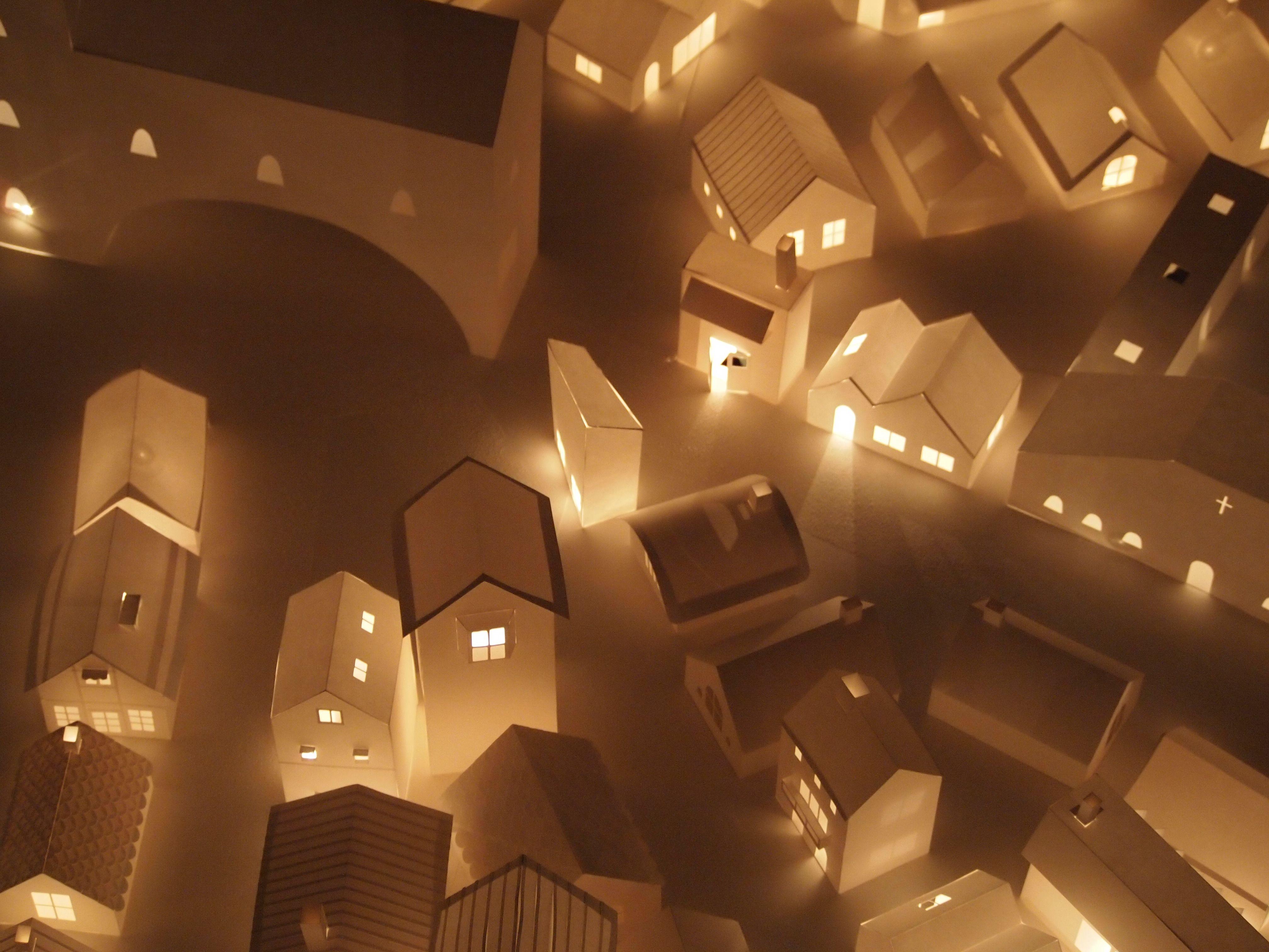 Amazing City Of Paper Houses