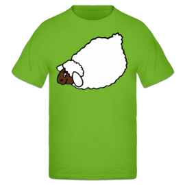 Lying Sheep Tee shirt Enfant